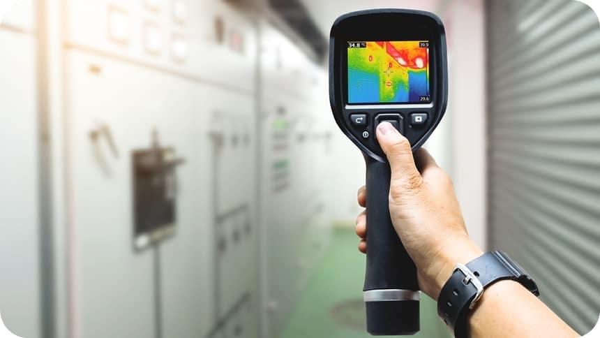 Thermographische Prüfung nach DIN VDE 54191